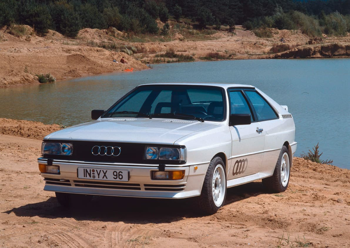 5-Cylinder Engine - Audi Quattro