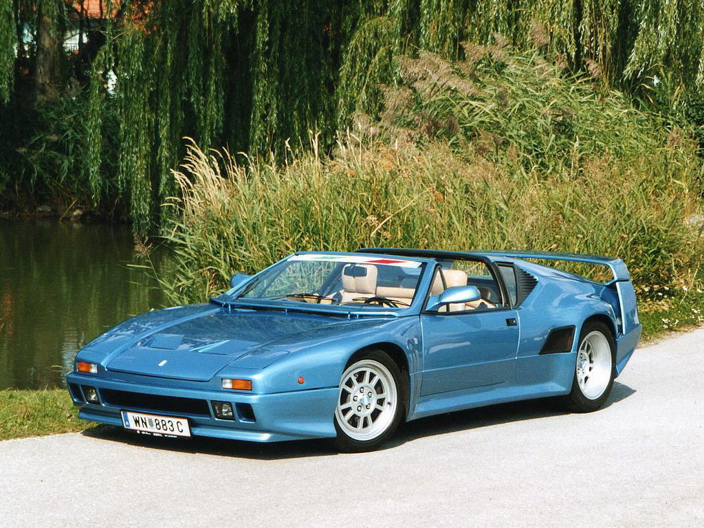 The Wedge Car - De Tomaso Pantera SI