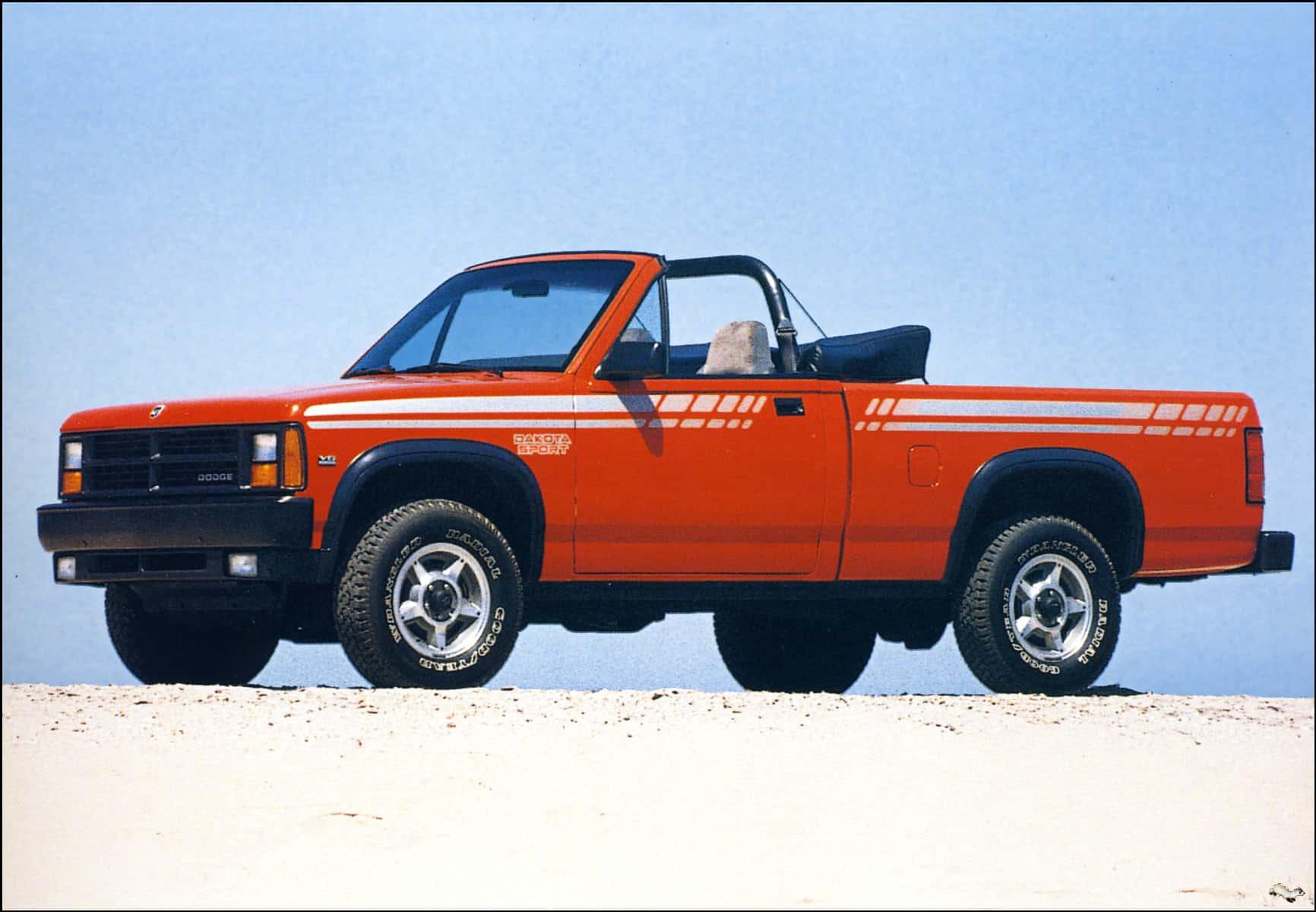 top ten pickup trucks - Dodge Dakota