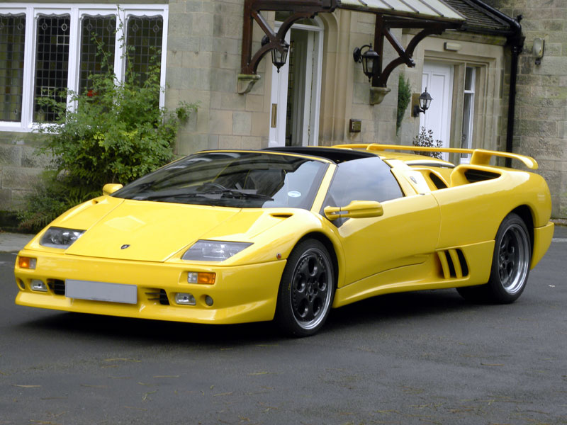 The Wedge Car - Lamborghini Diablo