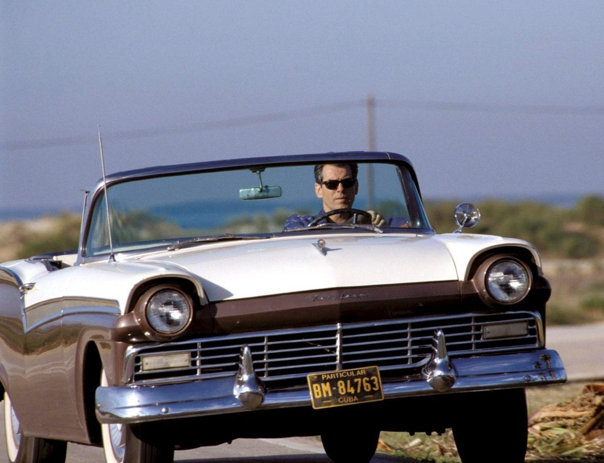 Affordable Bond Cars - ford-fairlane-convertible