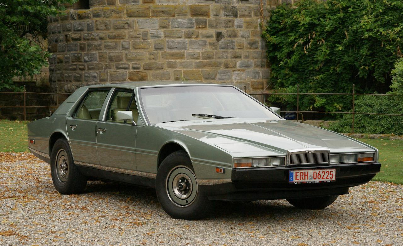 The Wedge Car - lagonda