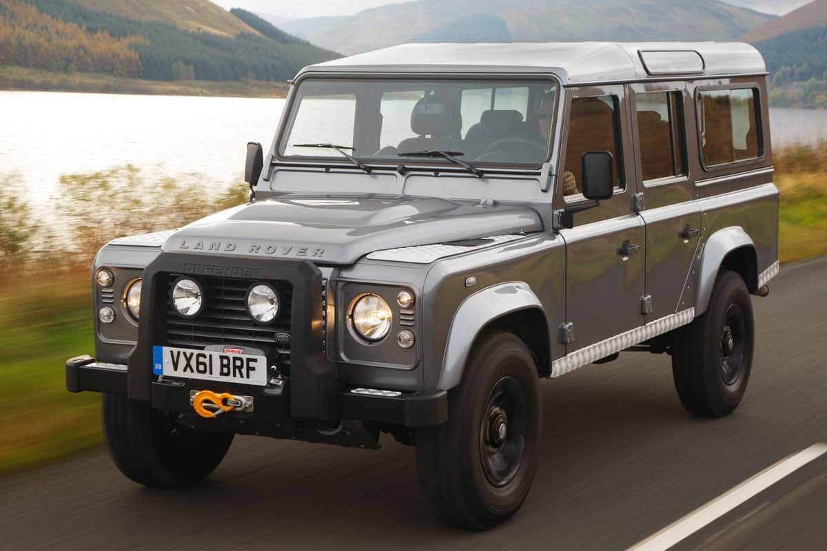 10 Great Cars That Had The 5 Cylinder Engine Land Rover 1998 Diagram Defender