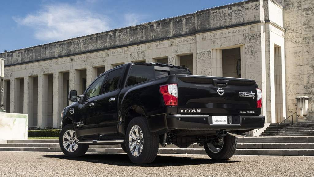 Nissan Titan Texas Edition Rear 3/4