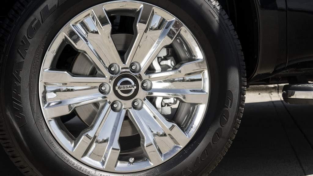 Nissan Titan Texas Edition Wheel