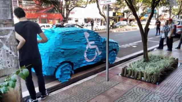 Pranks To Do On Cars Parked By Idiots 17