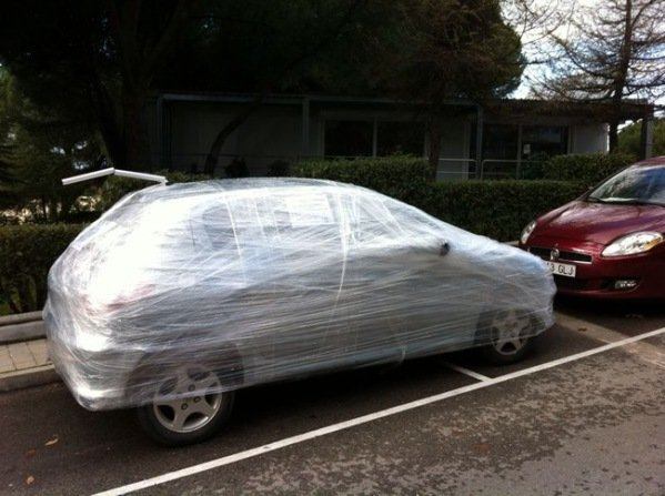 Pranks To Do On Cars Parked By Idiots 5