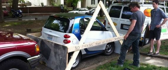 Pranks To Do On Cars Parked By Idiots 8