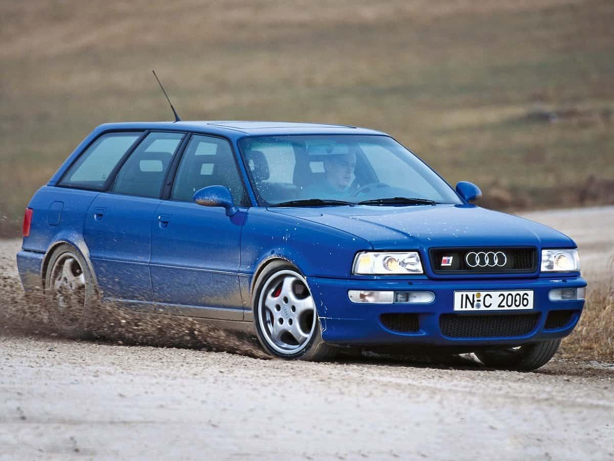 5-Cylinder Engine - Audi RS2