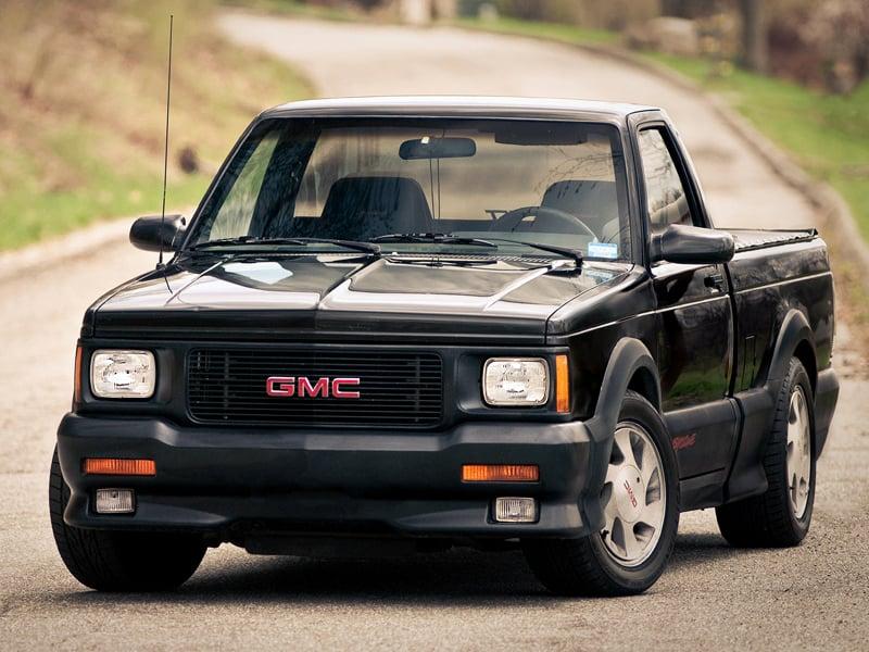 top ten pickup trucks - GMC syclone