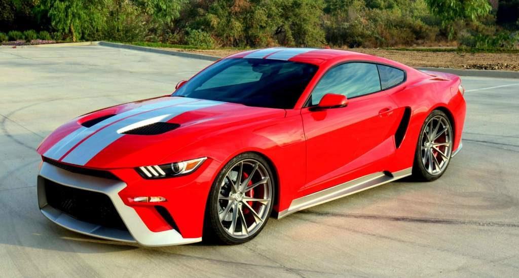 Mustang GTT Front 3/4