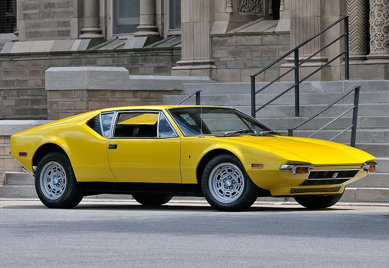 1971 De Tomaso Pantera; top car design rating and specifications