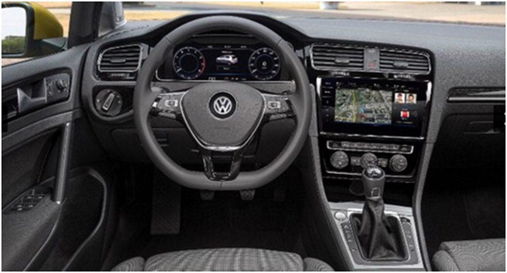 2017 Golf GTI Interior Standard