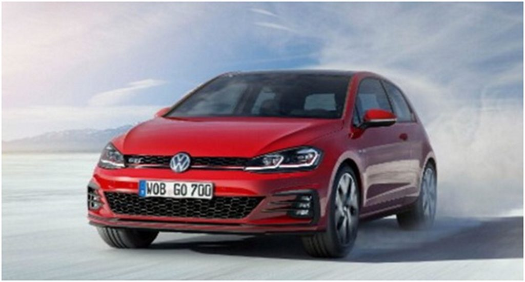 2017 Golf GTI Front 3/4