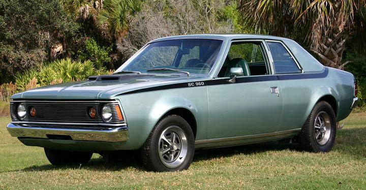 AMC car models - amc_hornet