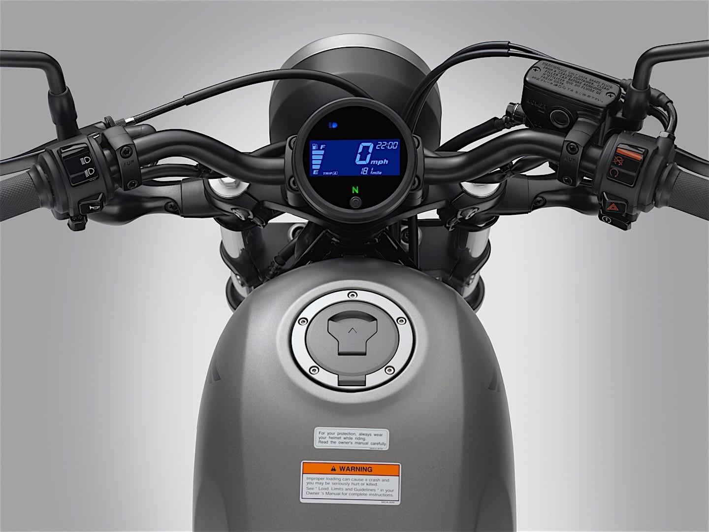 Honda Rebel 500 Bobber 8