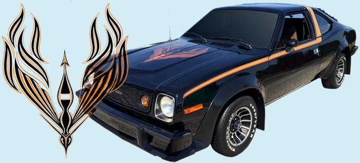 AMC car models - concord-amx