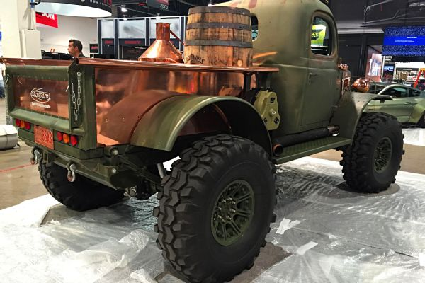 Restomod Trucks SEMA - bootlegger-power-wagon