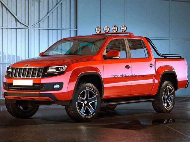 Weird Trucks Jeep Fusion