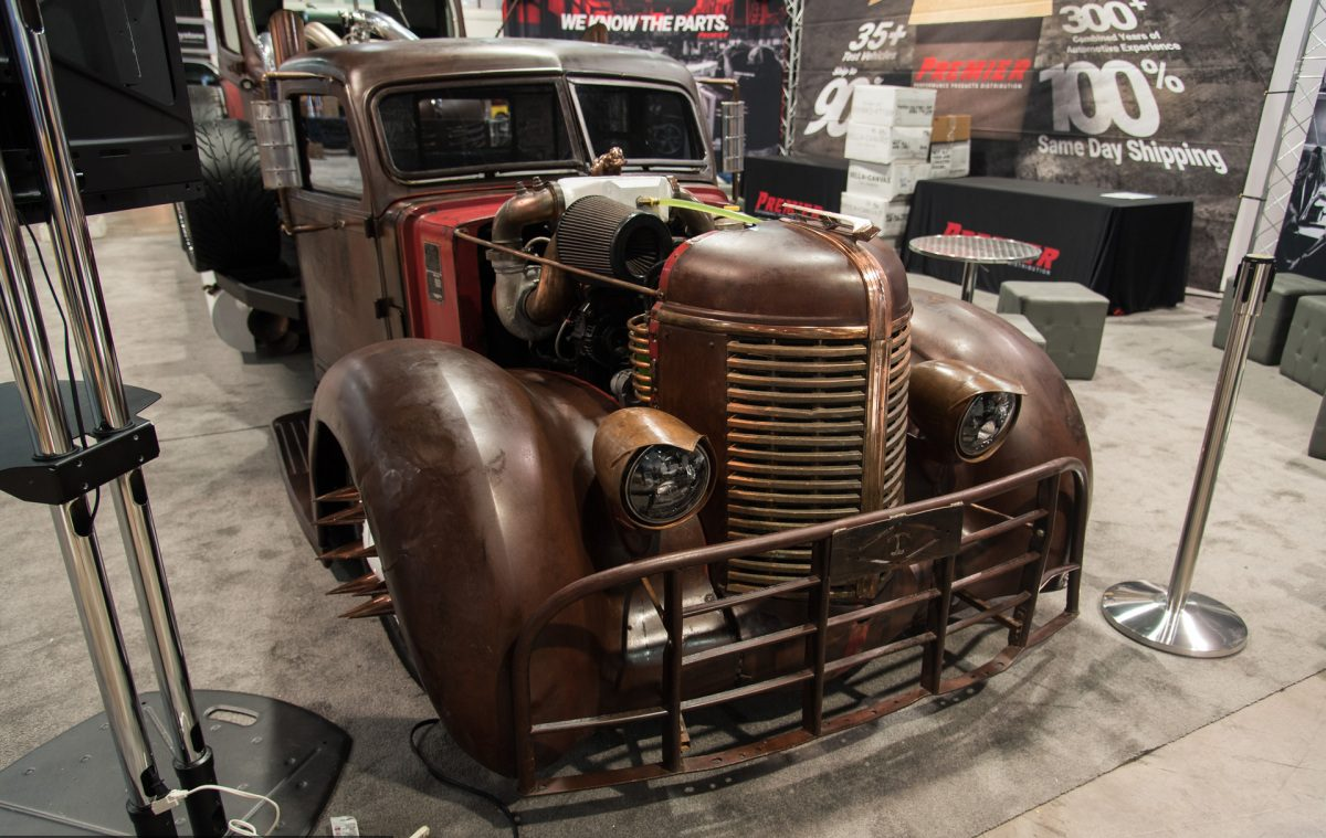 15 Of The Coolest And Weirdest Vintage Pickup Truck Resto Mods From 1941 Ford Interior Restomod Trucks Sema Long Haul