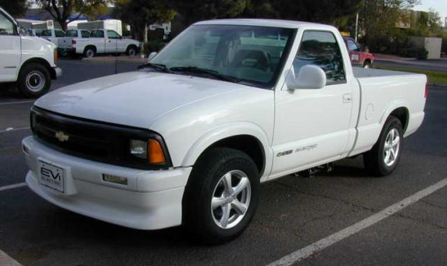 Rare Chevy Trucks - s10-ev