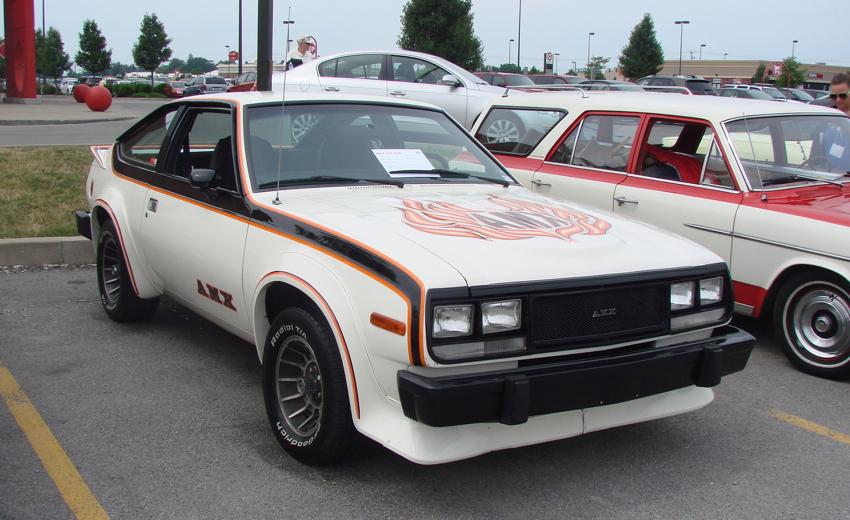 AMC car models - spirit-amx
