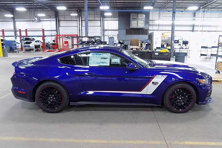 Ford Special Edition Trucks And Rare Ford Cars - 2016-roush-warrior-ford-mustang-2r