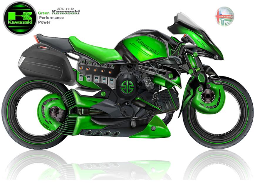 Hybrid Kawasaki ZX-HR 3