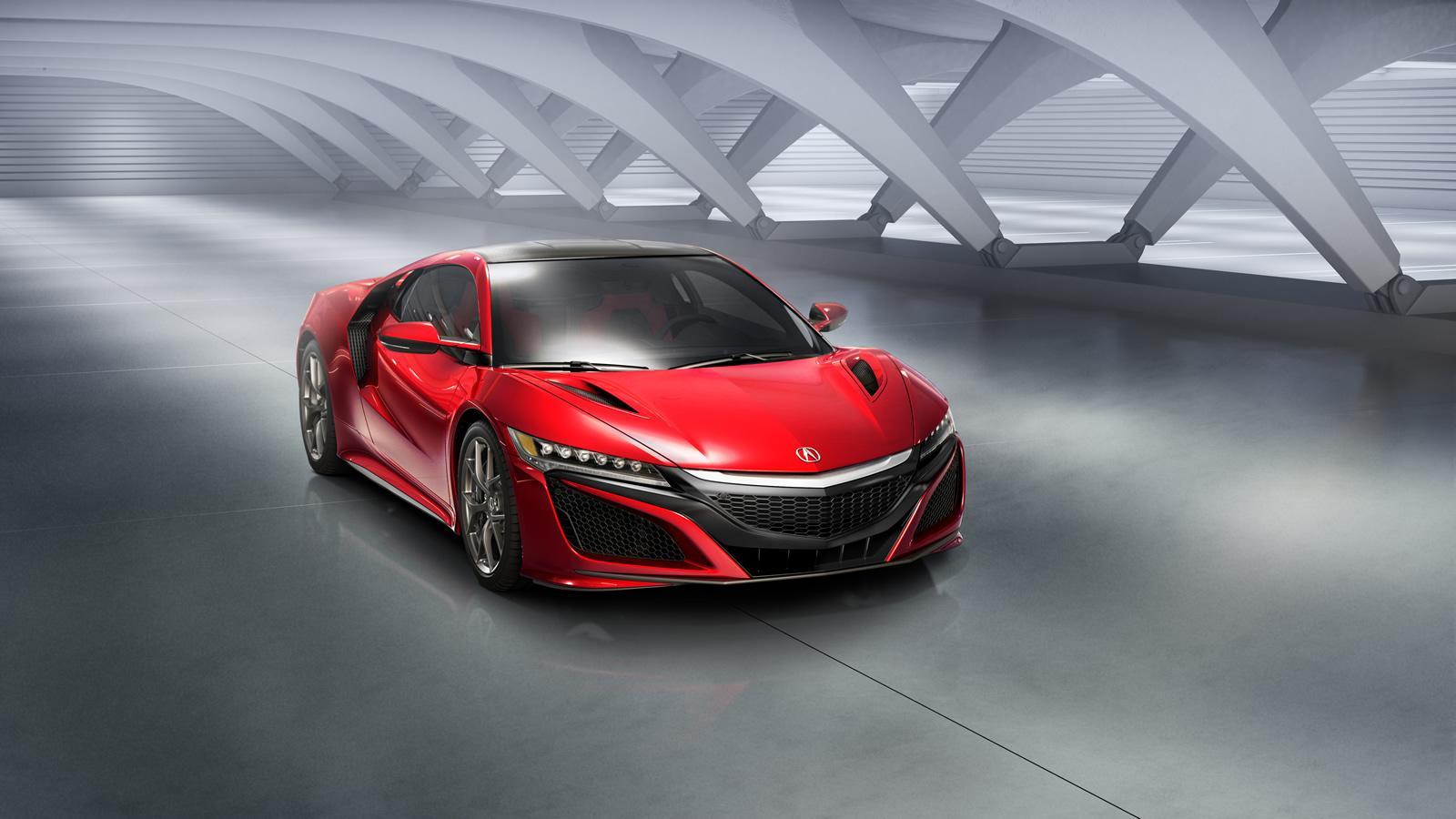 Upcoming 2017 Cars - Acura NSX