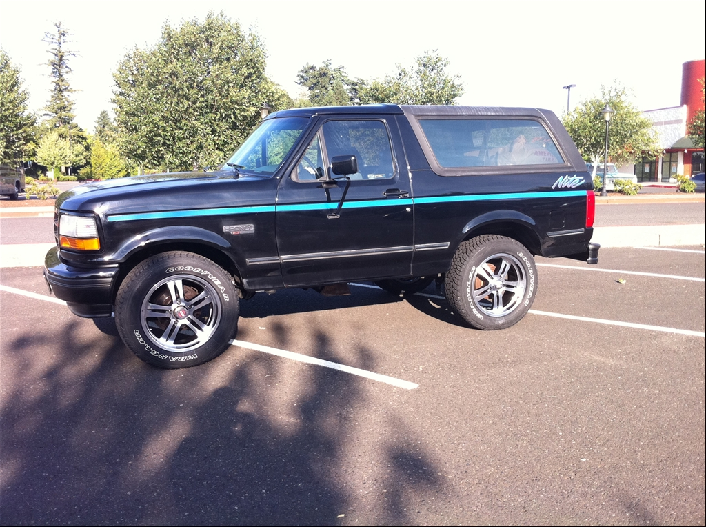 Ford Special Edition Trucks And Rare Ford Cars - bronco-nite