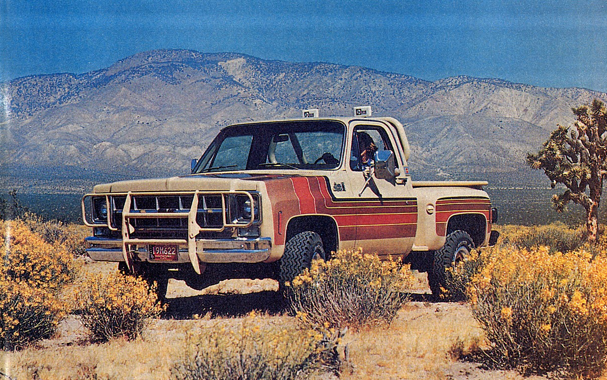 All Of 73 87 Chevy And Gmc Special Edition Pickup Trucks Part I 1979 C10 Rear Wiring Color Code Sarge