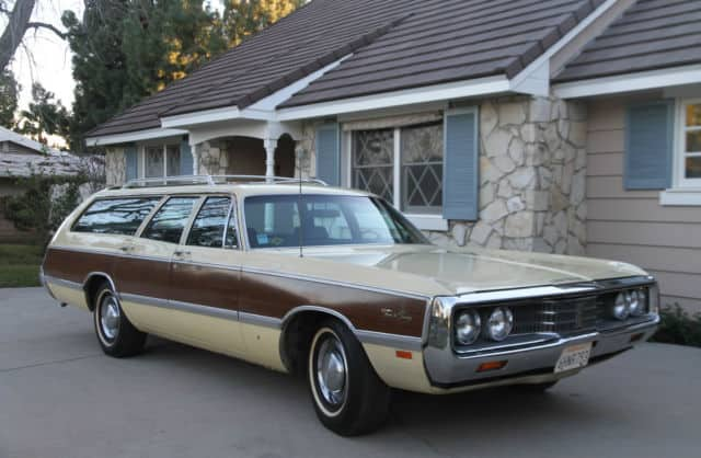 Best Old Station Wagons For Sale - Chrysler Town & Country