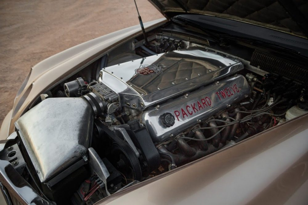 Worst Concept Cars - Packard Twelve Engine