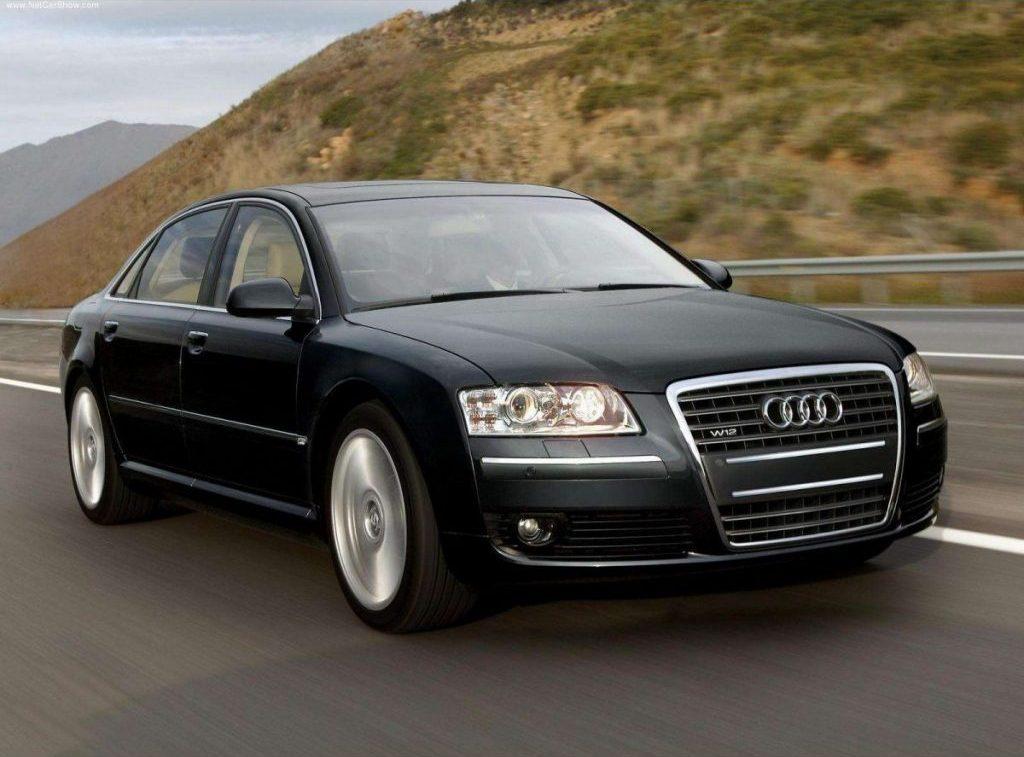 V12 Engine Cars - Audi A8 (D3/4E)