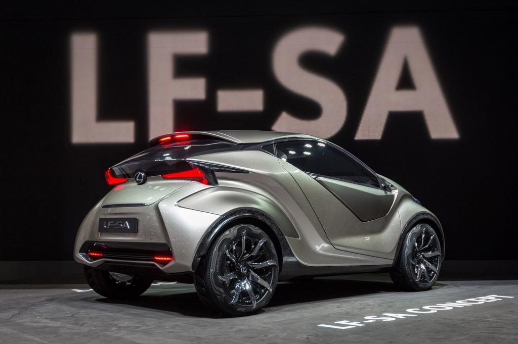 Worst Concept Cars - Lexus LF-SA Concept