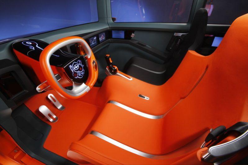 Worst Concept Cars - Scion Hako Coupe Concept Interior