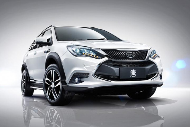 BYD Tang is one of the foreign electric cars we'd like to see in the US