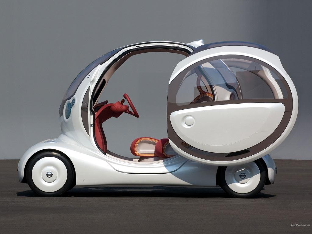 Worst Concept Cars - Nissan Pivo Concept