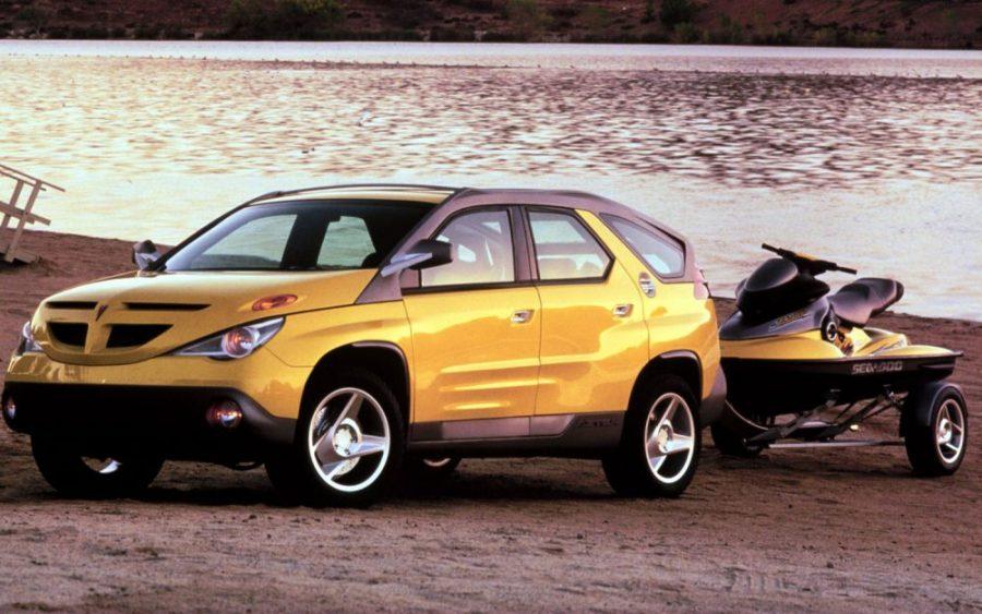 Worst Concept Cars - Pontiak Aztek