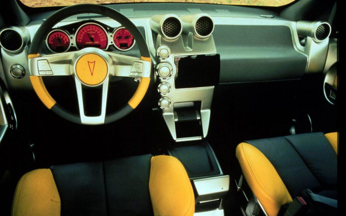 Worst Concept Cars - Pontiak Aztek Interior