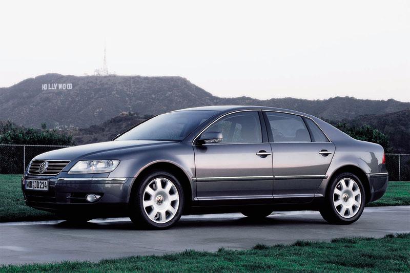 V12 Engine Cars - Volkswagen Phaeton