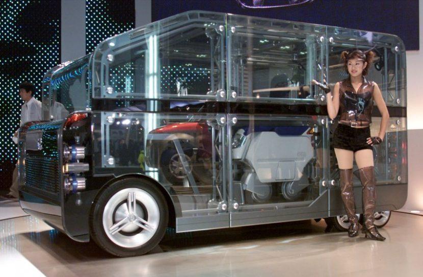 Worst Concept Cars - Honda Unibox Concept