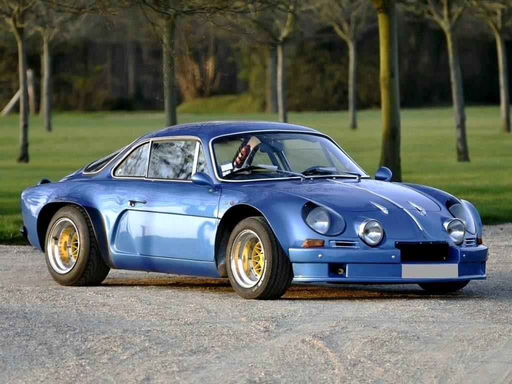 The ALPINE A110 is one of many foreign cars that would've excelled in the US market