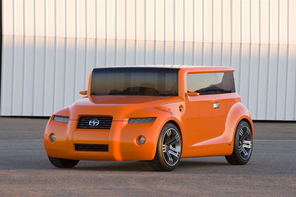Worst Concept Cars - Scion Hako Coupe