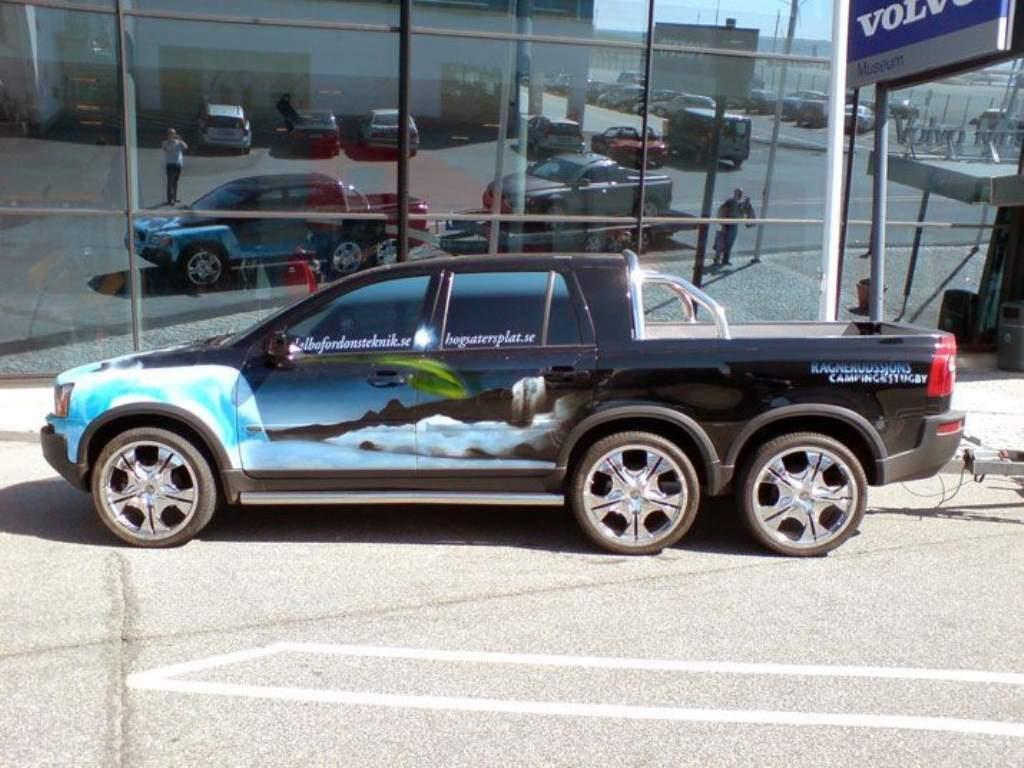 Volvo Pickup side view