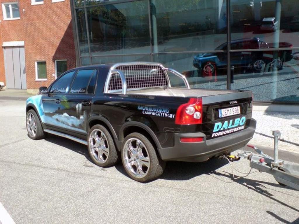 Volvo Pickup truck rear 3/4