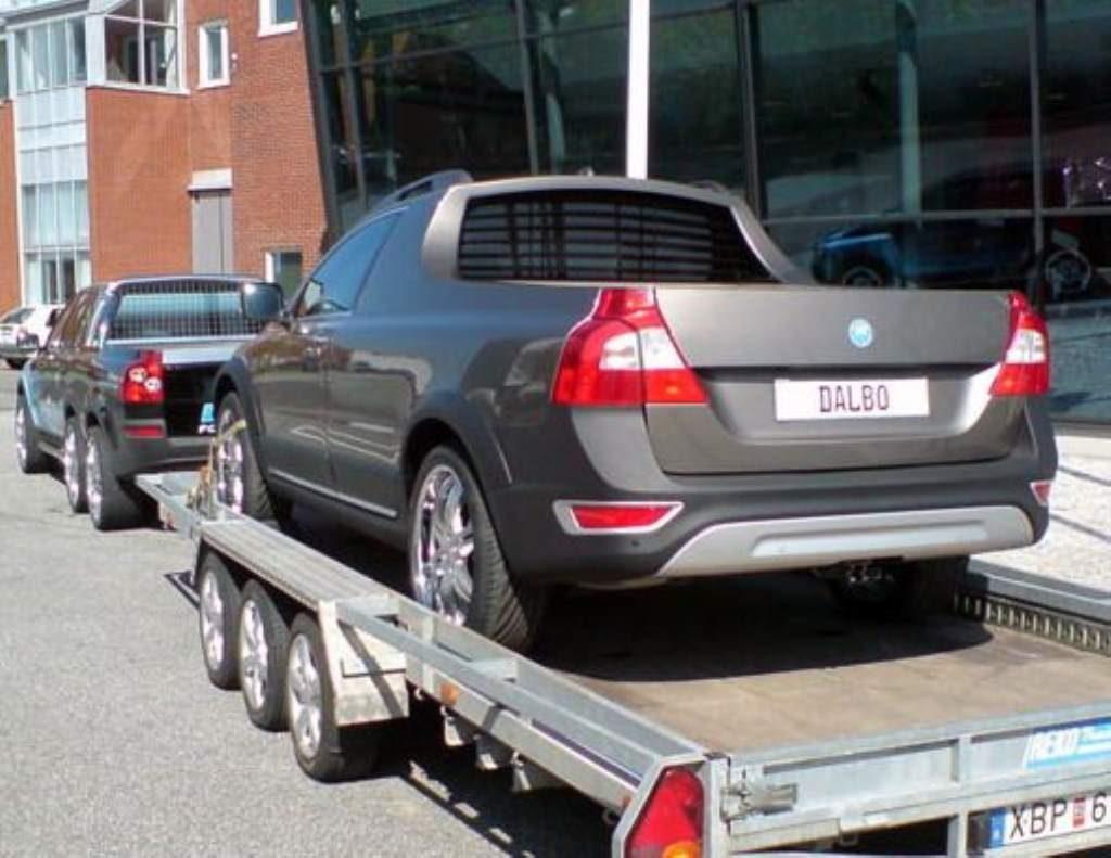 Volvo Pickup rear 3/4