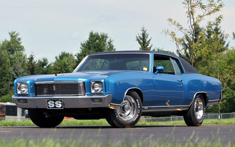 Classic Luxury Muscle Cars - Chevrolet Monte Carlo SS