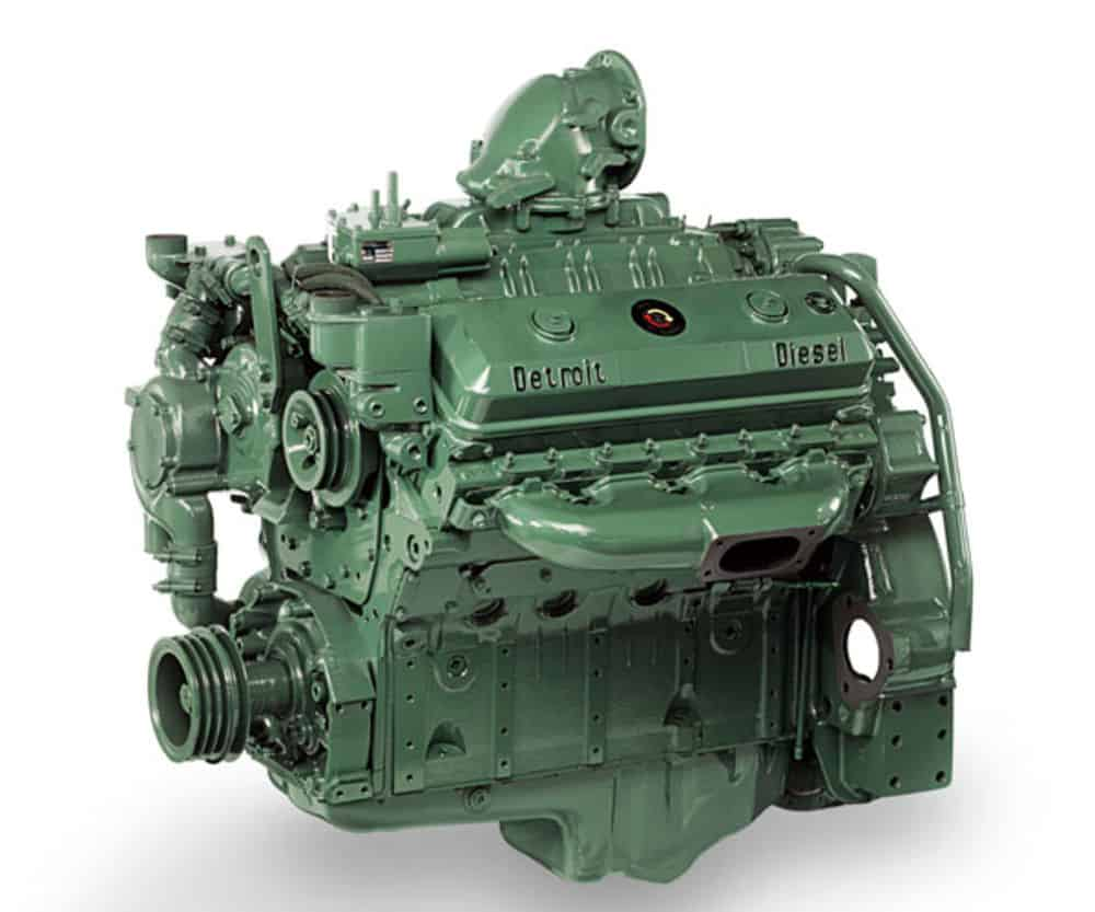 USA: Best Diesel Engine - Detroit Diesel Series 71