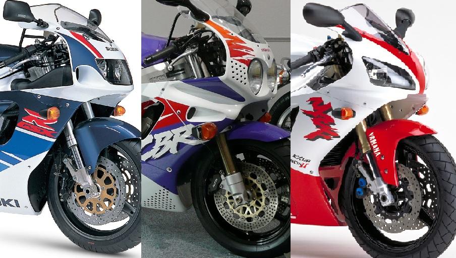 90s Sports Bikes 1